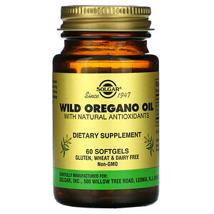 Солгар, Wild Oregano Oil, 60 Softgels отзывы покупателей