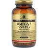 Solgar, Ômega 3 EPA & DHA, Força Tripla, 950 mg, 100 Cápsulas