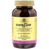Отзывы о Solgar, Omnium, комплекс фитонутриентов, формула с различными витаминами и минералами, 180 таблеток