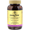 Solgar, Omnium, Phytonutrient Complex, Multiple Vitamin and Mineral Formula, 180 Tablets