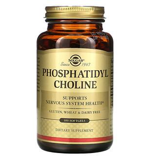 Solgar, Fosfatidilcolina, 100cápsulas blandas