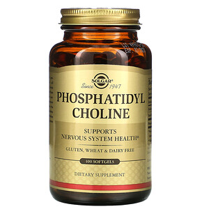 Солгар, Phosphatidyl Choline, 100 Softgels отзывы покупателей
