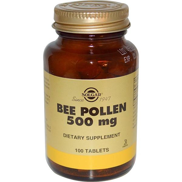Solgar, Bee Pollen, 100 Tablets (Discontinued Item)