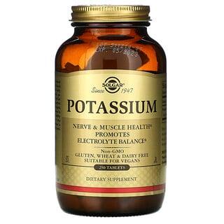 Solgar, Potasio, 250 comprimidos