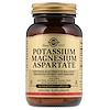 Solgar, Potassium Magnesium Aspartate, 90 Vegetable Capsules