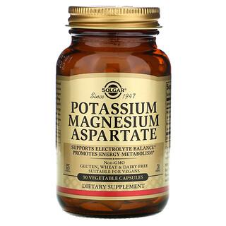 Solgar, Potassium Magnesium Aspartate, 90 Vegetable Capsules