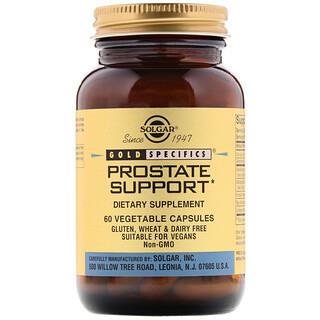 Solgar, Gold Specifics, поддержка простаты, 60 вегетарианских капсул