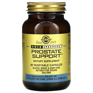 Solgar, Gold Specifics, Prostate Support, 60 Vegetable Capsules
