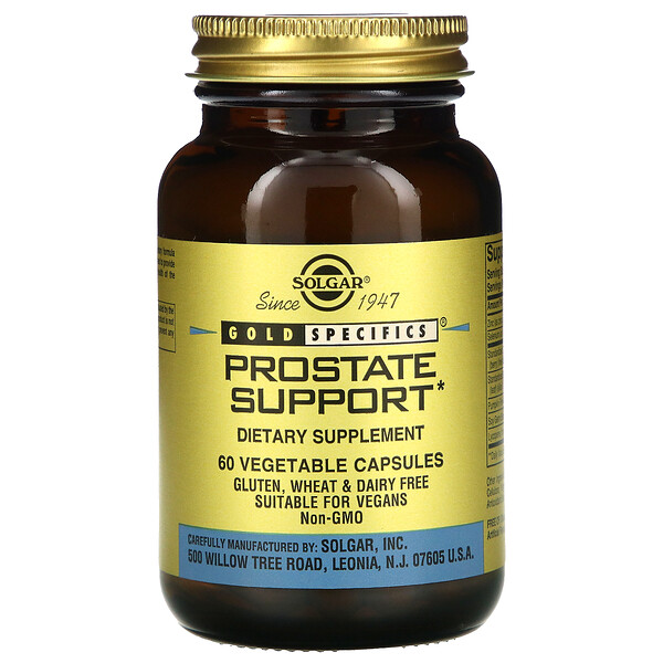 Gold Specifics, Prostate Support, 60 Vegetable Capsules