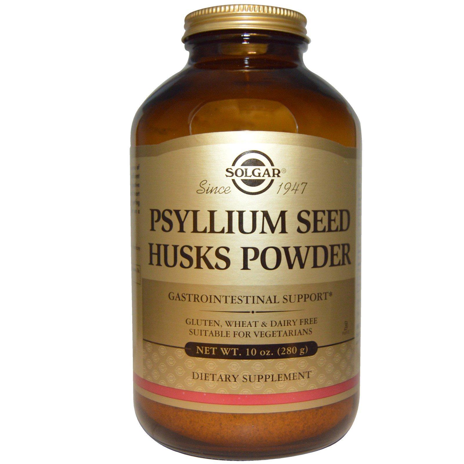 Solgar Psyllium Seed Husks Powder 10 Oz 280 G Iherbcom