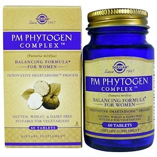 Solgar, PM PhytoGen Complex, 60 Tablets