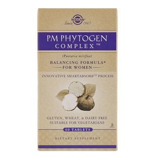 Solgar, Complejo PM PhytoGen Complex, Edición Platino, 60 comprimidos