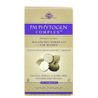 Solgar, PM PhytoGen 複合物,60 片