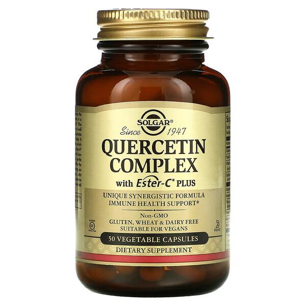 Solgar, Quercetin Complex with Ester-C Plus, 50 Vegetable Capsules