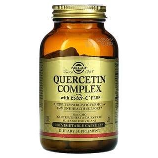 Solgar, Complejo de quercetina con Ester-CPlus, 100cápsulas vegetales
