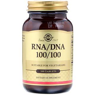 Solgar, RNA / DNA 100/100, 100 Tablets