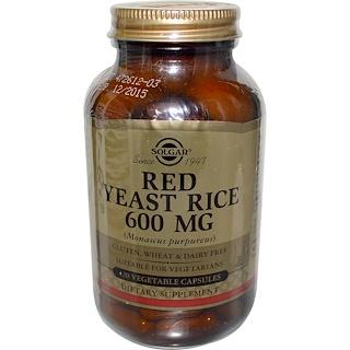 Solgar, Red Yeast Rice, 120 Veg Caps