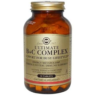 Solgar, Абсолютный B+C комплекс, 90 таблеток