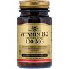 Solgar, Vitamin B2 (Riboflavin), 100 mg, 100 Vegetable Capsules