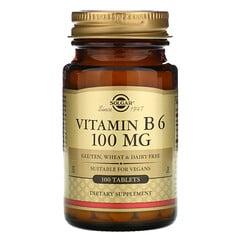Solgar, 維生素B 6,100 微克,100 片