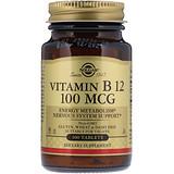 Отзывы о Solgar, Витамин B12, 100 мкг, 100 таблеток
