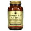 Solgar, Vitamin B12, 500 mcg, 250 Vegetable Capsules