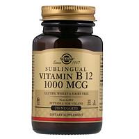 Сублингвальный витамин B12, 1000мкг, 250капсул - фото