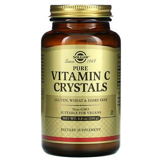 Solgar, Cristales de vitaminaC pura, 250g (8,8oz)