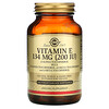 Solgar, Naturally Sourced Vitamin E, 200 IU, 100 Vegetarian Softgels