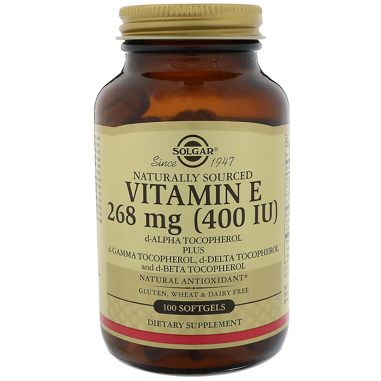 What does vitamin e 400 iu do
