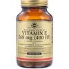 Solgar, Vitamina E, 400 U.I., 100 Cápsulas