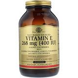 Отзывы о Solgar, Витамин E натурального происхождения, 400 МЕ, 250 мягких таблеток