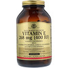 Solgar, Naturally Sourced Vitamin E, 400 IU, 250 Softgels