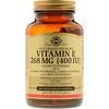 Solgar, Vitamin E, 268 mg (400 IU), 100 Vegetarian Softgels