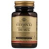 Naturally Sourced Vitamin K2, 100 mcg, 50 Vegetable Capsules