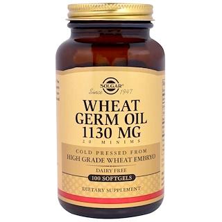 Solgar, Aceite de germen de trigo, 100 softgels