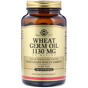 Солгар, Wheat Germ Oil, 1,130 mg, 100 Softgels отзывы