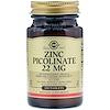 Solgar, Zinc Picolinate, 100 Tablets