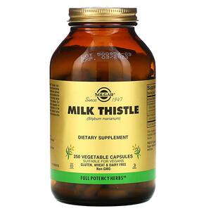 Солгар, Milk Thistle, 250 Vegetable Capsules отзывы
