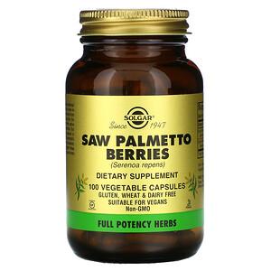 Солгар, Saw Palmetto Berries, 100 Vegetable Capsules отзывы покупателей