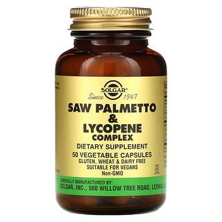 Solgar, Saw Palmetto & Lycopene Complex, 50 Vegetable Capsules