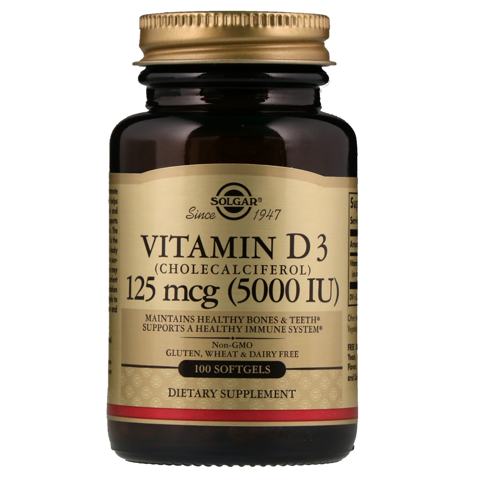 Vitamin D3 Berechnen : solgar vitamin d3 cholecalciferol 5 000 iu 100 softgels ~ Themetempest.com Abrechnung