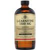Solgar, L-كارنيتين، بنكهة الليمون الطبيعي، 1500 ملغ، 16 أوقية (473 مل)