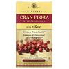 Solgar, Cran Flora, с пробиотиками, 60 вегетарианских капсул