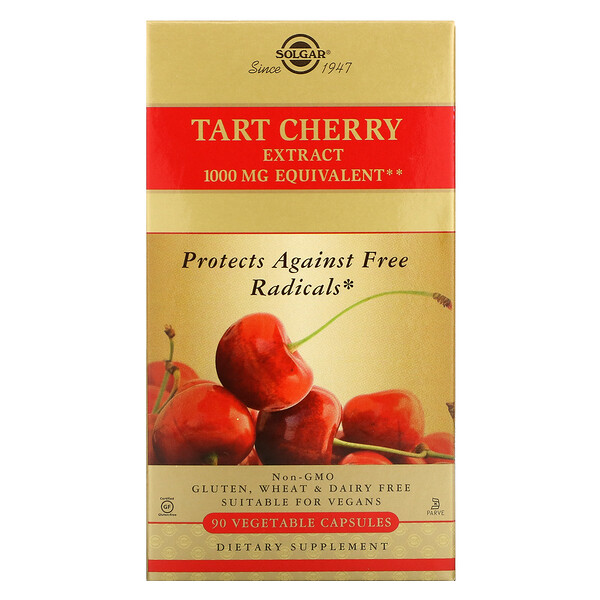 Tart Cherry Extract, 90 Cápsulas Vegetais