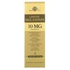 Solgar, Жидкий мелатонин, натуральный ароматизатор со вкусом черешни, 10 мг, 59 мл (2 жидких унции)