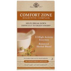 Solgar, Comfort Zone Digestive Complex, 90 Vegetable Capsules