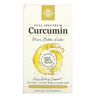 Solgar, Full Spectrum Curcumin, 60 Liquid Extract Softgels