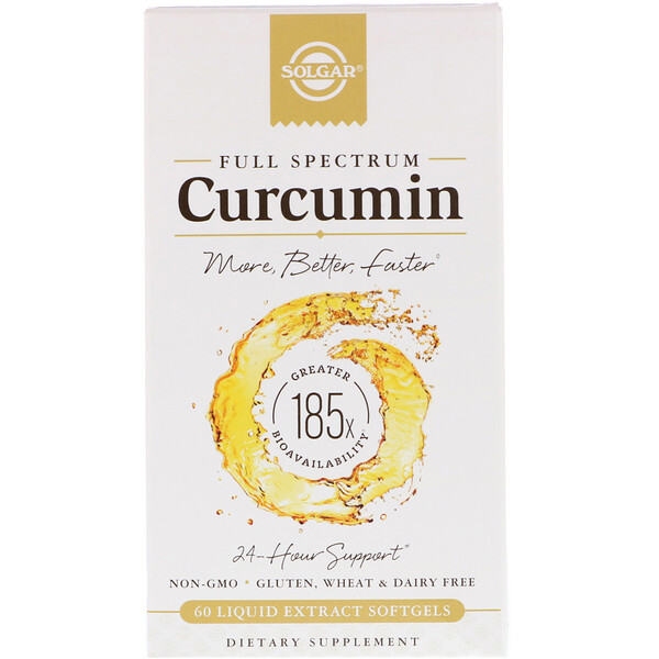 Full Spectrum Curcumin, 60 Liquid Extract Softgels