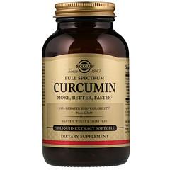 Solgar, Curcumine Full Sprectrum , 90 Capsules molles